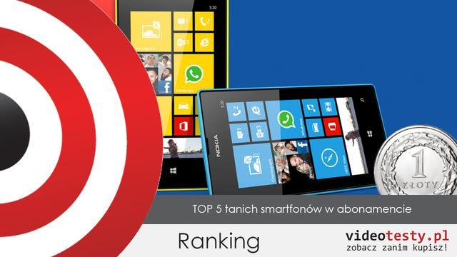 Top 5 Smartfonów za 1 zł - Play, Orange, Plus, T-Mobile
