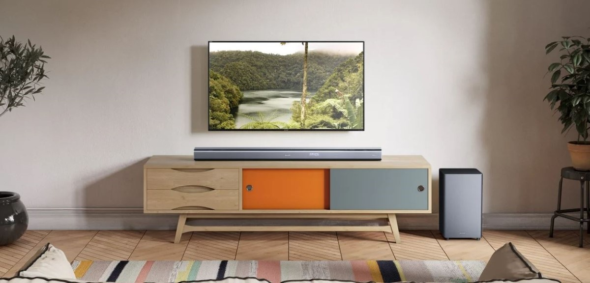 Sharp HT-SBW800 w salonie
