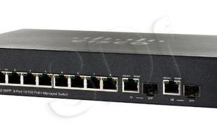 CISCO SF302-08PP-K9-EU 8 x 10/100 PoE+ Switch