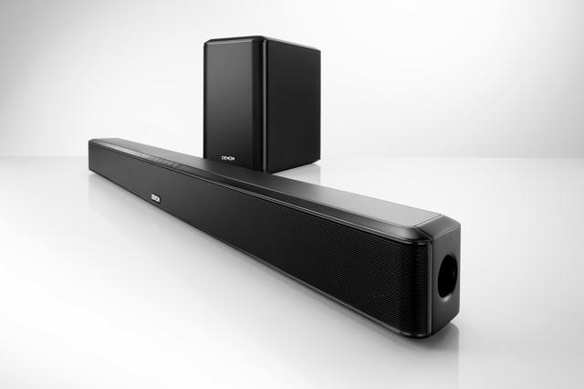 Denon DHT-S514 - nowoczesny soundbar z subwooferem