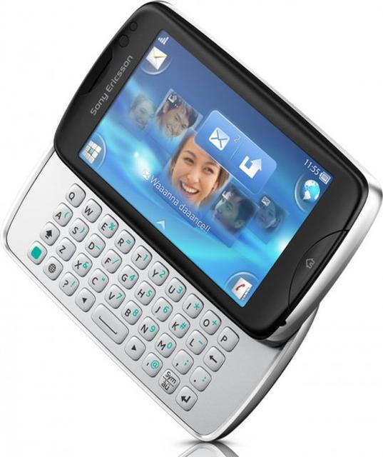 Sony Ericsson Txt Pro - prezentacja