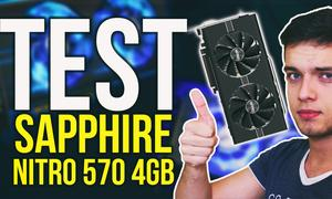 NOWE KARTY AMD? Sapphire Nitro 570 4GB - Test