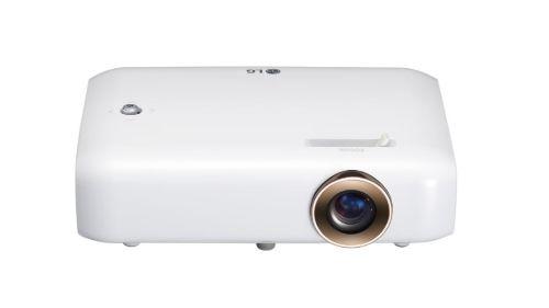 LG PH550G na białym tle