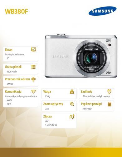 Samsung WB380F white