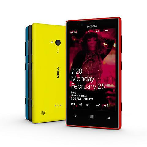 Nokia Lumia 720 fot2