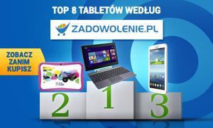 TOP 8 Tabletów według Zadowolenie.pl - Zobacz Zanim Kupisz!