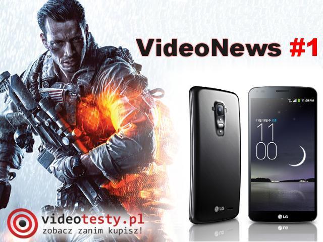 VideoNews #1 - najnowsze informacja ze świata gier i nowych technologii