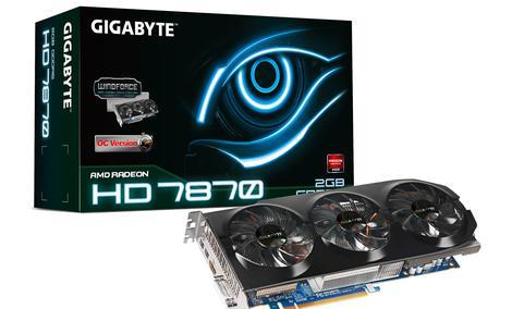 GIGABYTE prezentuje podkręcone wersje kart z serii Radeon HD 7800