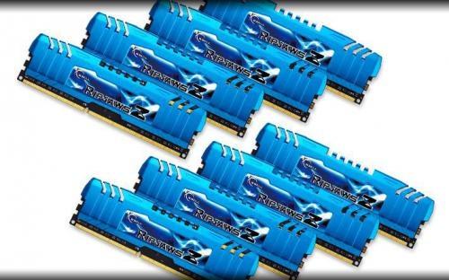 G.Skill DDR3 64GB (8GBx8) 1866MHz, CL10, RipjawsZ K8