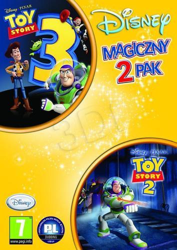 2-pak Toy Story 2 + Toy Story 3