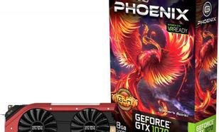 Gainward GeForce GTX 1070 Phoenix GLH 8GB GDDR5 (256 Bit) HDMI, DVI-D, 3xDP, BOX (426018336-3675)