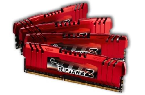 G.SKILL DDR3 16GB (4x4GB) RipjawsZ 1600MHz CL9 XMP