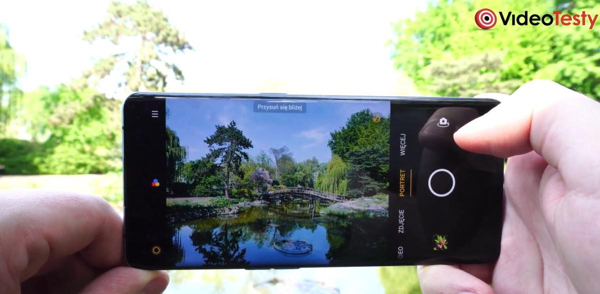 Oppo reno3 Pro w aplikacji aparatu nie ma wielu trybów