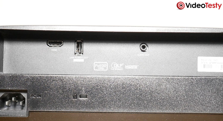 Optoma HD28e liczba złączy
