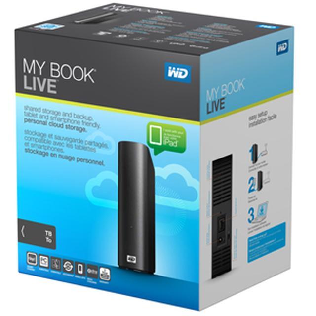 Unboxing osobistego serwera plików WD My Book Live