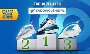 TOP 10 Żelazek według Zadowolenie.pl - Zobacz Zanim Kupisz!