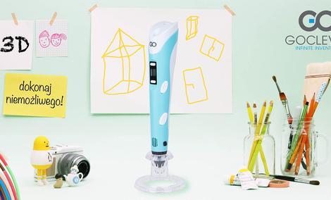 Długopis 3D Printer Invention - Tańsza Alternatywa Dla Drukarek 3D