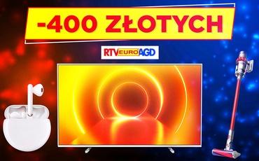 Promocje sięgające 400 złotych! Elektronika w dobrej cenie