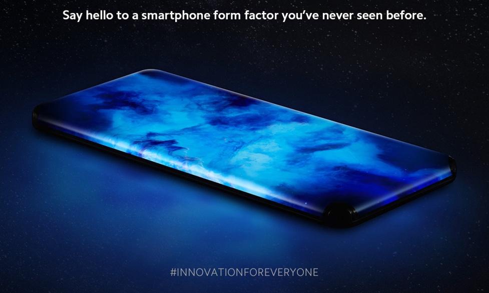 Xiaomi pokazało smartfon z wodospadowym wyświetlaczem