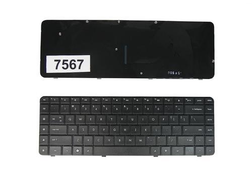 Qoltec Klaw. do noteb. HP CQ62 CQ56 BLACK
