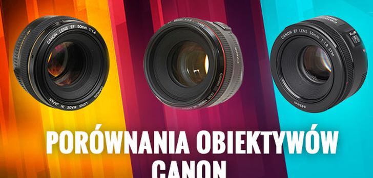 Porównanie Obiektywów Canon 50 mm