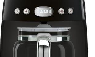 Smeg Ekspres do kawy, przelewowy, czarny Smeg DCF02BLEU