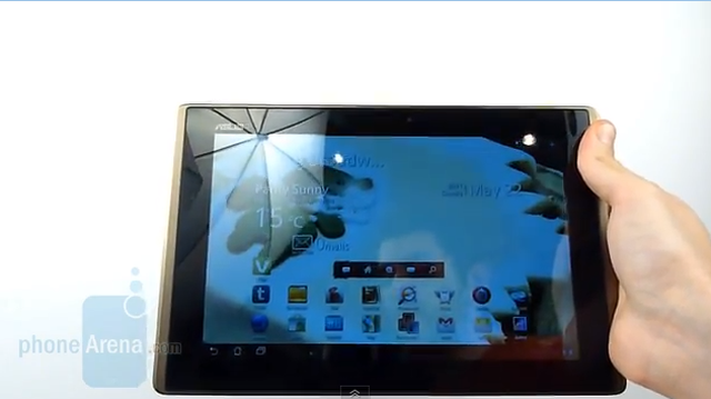 Asus Eee Pad Transformer - test tabletu