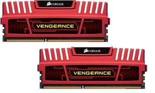 Corsair DDR3 VENGEANCE 16GB/1866 (2*8GB) CL10-11-10-30 RED