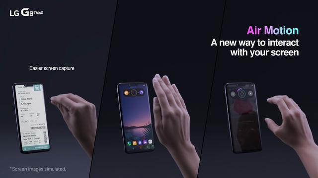 LG G8 ThinQ z nową nawigacją dłonią