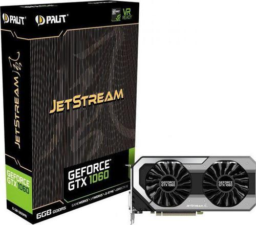 Palit GeForce GTX 1060 JetStream 6GB GDDR5 (192 Bit) DVI, HDMI, 3xDP,
