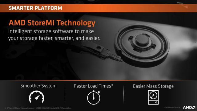AMD StoreMI to jedna z technologi wspomagających gracza, jednak za wiele o niej nie wiemy.