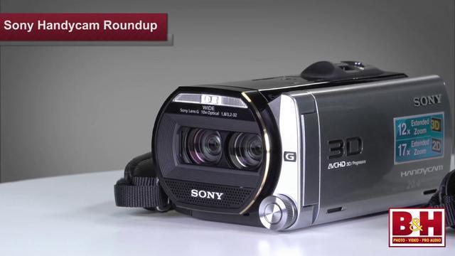 Sony HDR Series - świetne, poręczne kamery