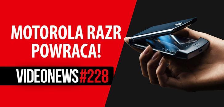 Elastyczna Motorola Razr, problemy Youtube, hologramy z głośników - VideoNews #228