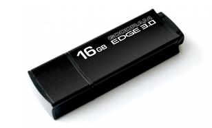 GoodRam Edge 16GB USB 3.0 Czarny 48/25MB/s