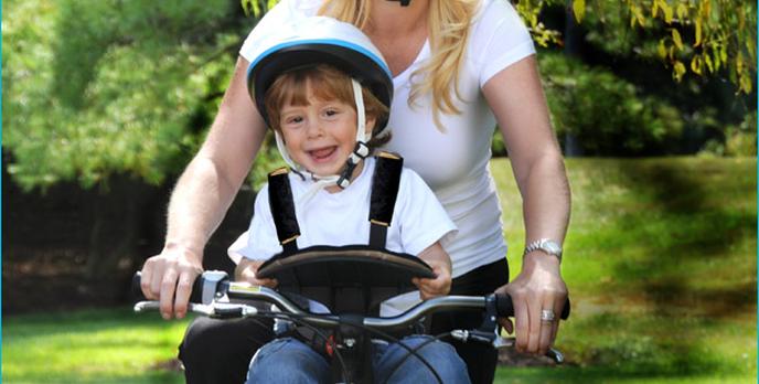 Krzesełka rowerowe dla dzieci - TOP 10 maj 2014