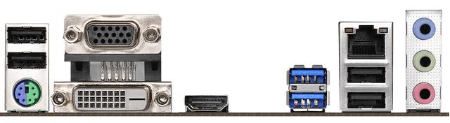 ASROCK H310M-HDV/M.2 - porty