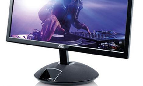 """Światowa nowość już dostępna - 23"""" monitor myStage od AOC ze stacją dokującą iPod"""