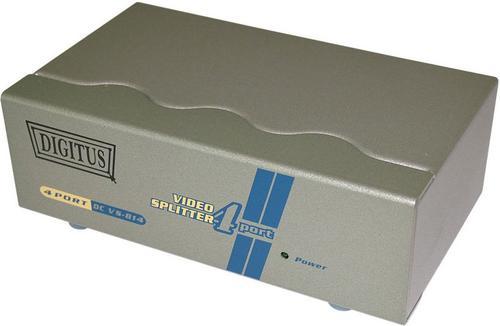 SPLITTER ELEKTRONICZNY DVI 1xPC-> 4xVGA, 200MHz