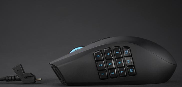Razer Naga Epic Chroma - Bezprzewodowa Mysz Do MMO Z 19 Przyciskami