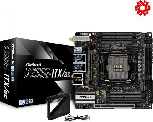 ASRock ASRock X299E-ITX/AC (90-MXB5W0-A0UAYZ)