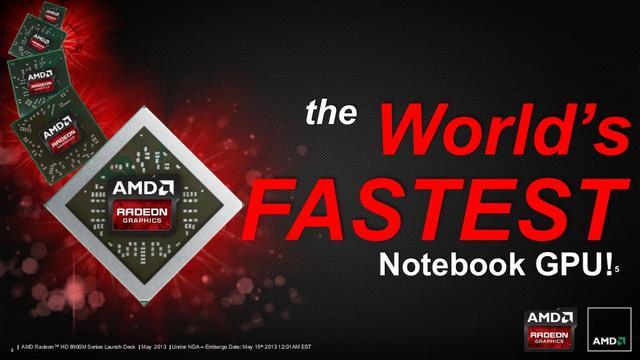 Firma AMD wprowadza najszybszą kartę graficzną dla notebooków