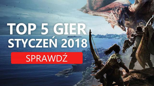 Najlepsze Premiery Gier Styczeń 2018 – DUSK, Street Fighter V, Dragon Ball FighterZ, Monster Hunter