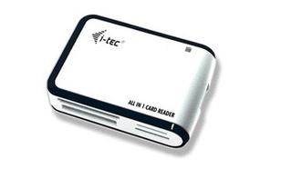 i-Tec USB ALL-IN-1 CZYT READER WHITE/SILVER