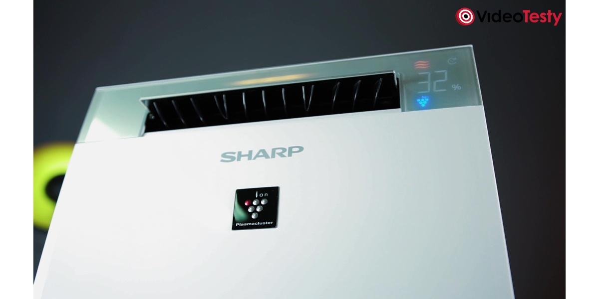 SHARP KI-G75EUW - wylot powietrza