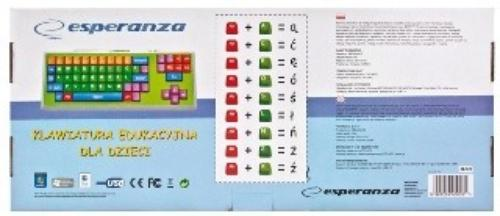 ESPERANZA KLAWIATURA EK121 USB DLA DZIECI
