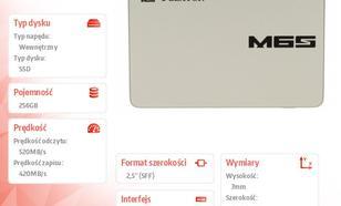 Plextor SSD 256GB 2,5'' SATA M6S PX-256M6S