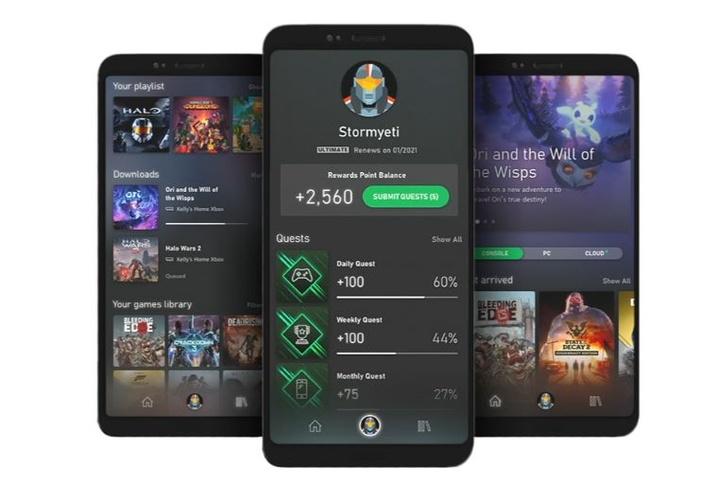 Aplikacja Xbox Game Passs
