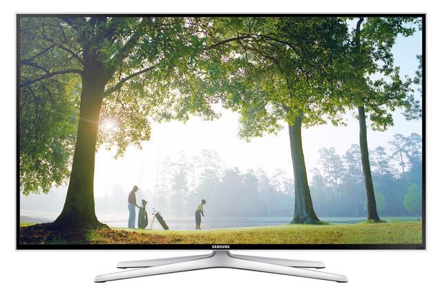 Płaski telewizor o rozdzielczości 4K