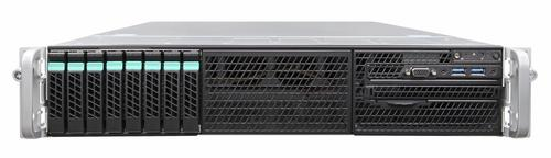 "Intel R2208WTTYS Platforma 2U 2xE5-2600v3/24xDIMM/8xHDD 2.5""/1100W 2x10GE"