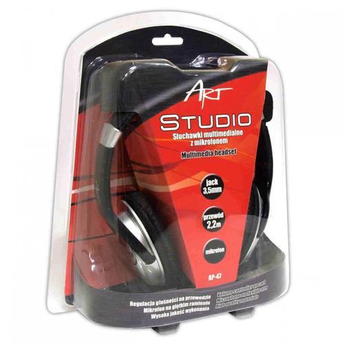 ART Słuchawki AP-47 Studio mikr/reg.głoś